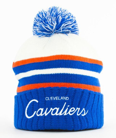 Mitchell & Ness-Cleveland Cavaliers Colour Block Special Script Knit Czapka Zimowa