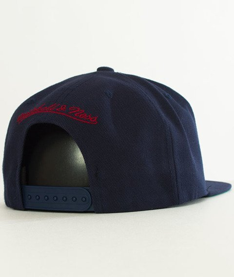 Mitchell & Ness-Cleveland Cavaliers Solid Team Snapback NT78Z