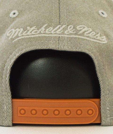 Mitchell & Ness-NY Knicks Snapback Czapka Szara