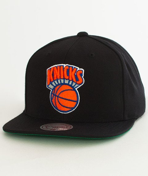 Mitchell & Ness-New York Knicks Solid Team Snapback NZ979