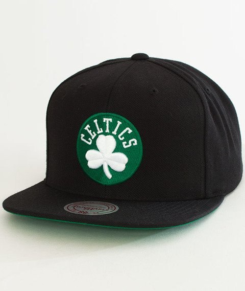 Mitchell & Ness-Solid Team Boston Celtics Snapback NL99Z