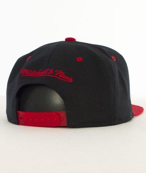 Mitchell & Ness-Team Arch Chicago Blackhawks Snapback ND12Z Czarny/Czerwony