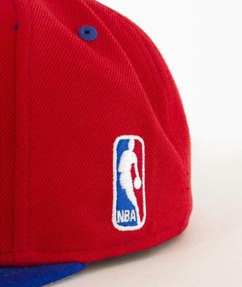 Mitchell & Ness-Team Arch Los Angeles Clippers Snapback NA80Z Czerwony/Niebieski