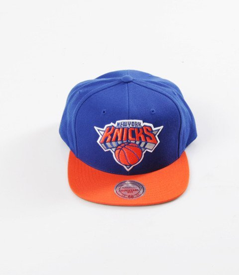 Mitchell & Ness- Wool Solid Snapback - NBA - New York Knicks