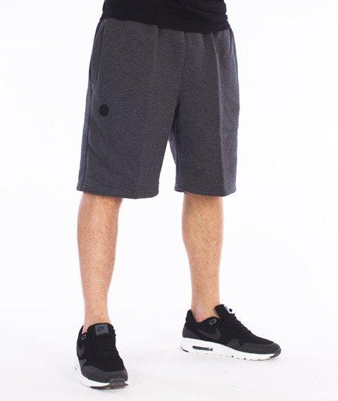 Moro Sport-Camo Spodnie Krótkie Dresowe Grafitowe