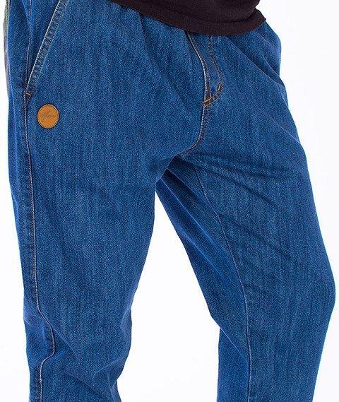 Moro Sport-Jogger Gym Spodnie Średni Jeans