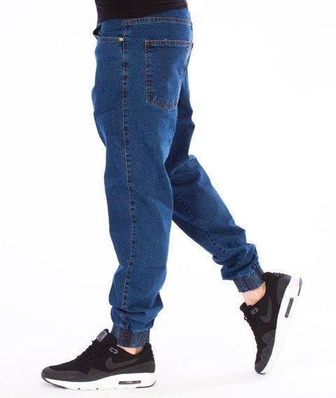 Moro Sport-Leather Baseball Jogger Spodnie Średnie Pranie