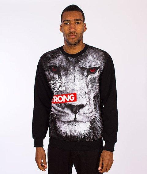 Moro Sport-Lion Bluza Klasyczna Czarna