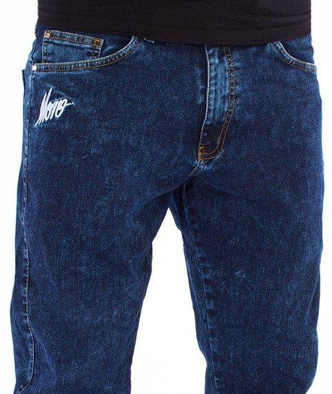 Moro Sport-Mini Slant Tag17 Jogger Spodnie Marmurkowe Pranie