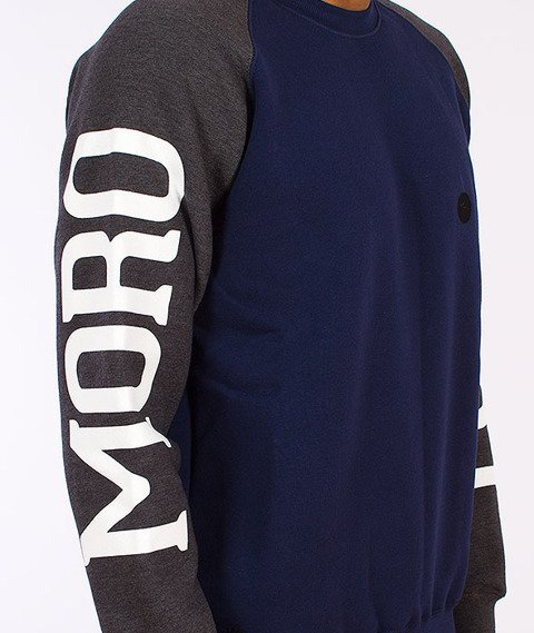 Moro Sport-Moro Sport Bluza Klasyczna Granatowa/Grafitowa