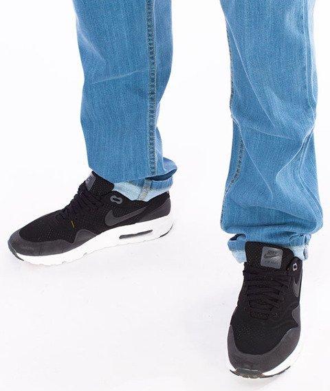Moro Sport-Paris17 Regular Spodnie Jasne Pranie