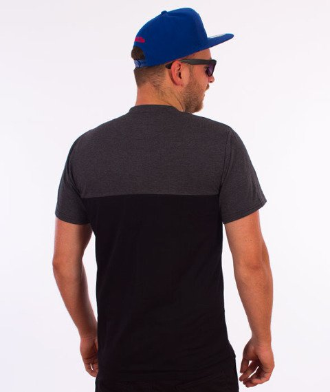 Moro Sport-Shield T-Shirt Czarny/Grafitowy