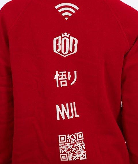 NNJL-Classic Bluza Kaptur Czerwona