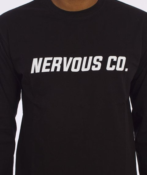 Nervous-CO. Fa16 Longsleeve Czarny