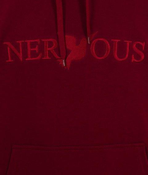 Nervous-Classic FA18 Hood Bluza Kaptur Maroon