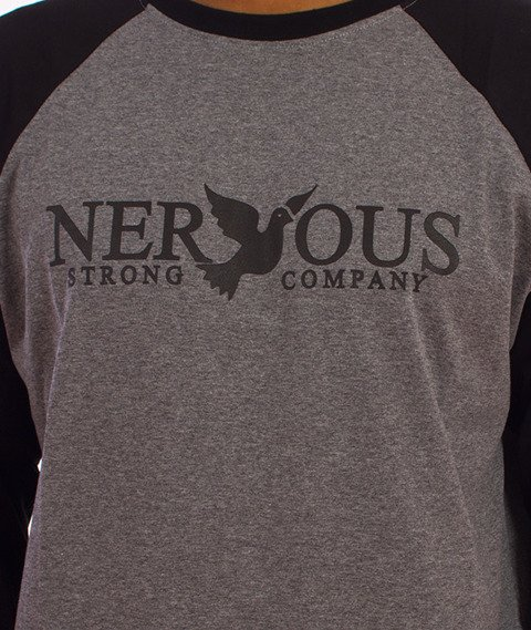 Nervous-Classic Fa16 Longsleeve Szary/Czarny