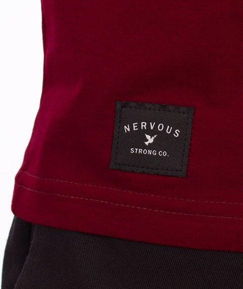 Nervous-Classic T-shirt Maroon