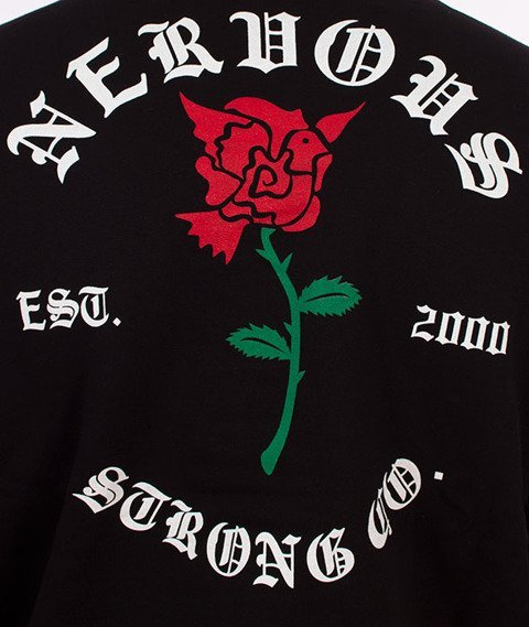 Nervous-Crewneck F17 Rose Bluza Black