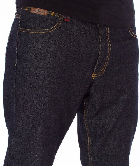 Nervous-F17 Classic Dark Blue Spodnie Jeansowe