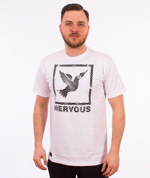 Nervous-Icon T-Shirt Biały