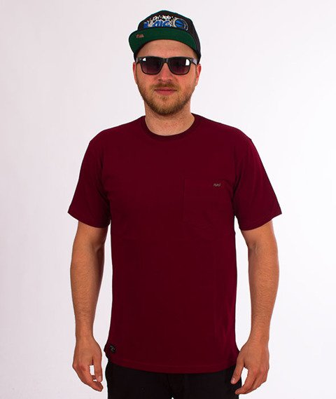 Nervous-Pocket Sp18 T-shirt Maroon