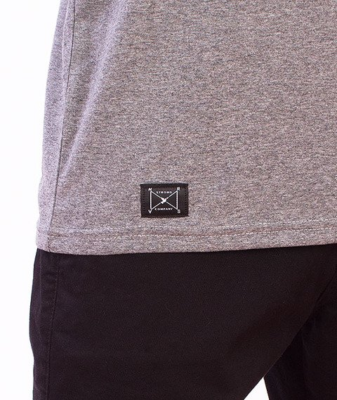 Nervous-Round T-Shirt Grey