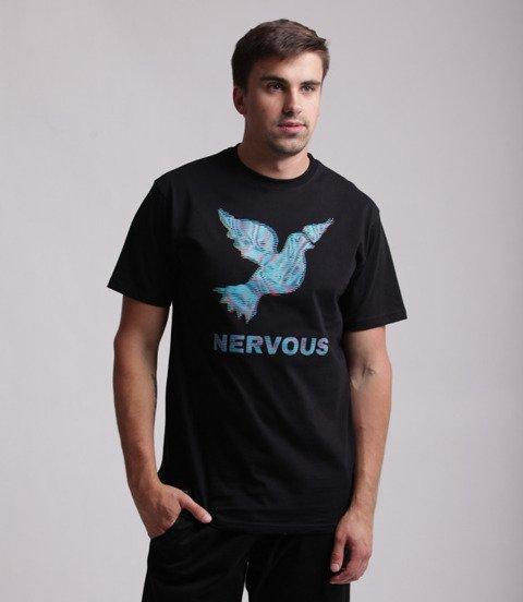 Nervous SS19 LCD T-Shirt Czarny