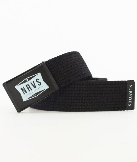 Nervous-Shop Pasek Black/Black