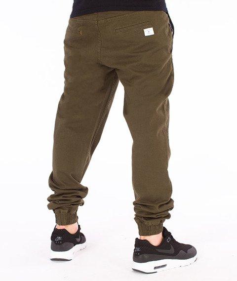 Nervous-Spodnie Sp17 Jogger Oliwkowe