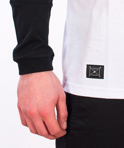 Nervous-Tri Longsleeve White/Black