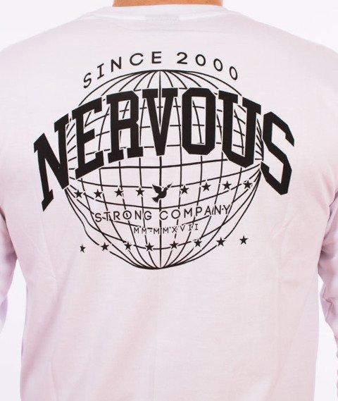 Nervous-World Longsleeve Biały