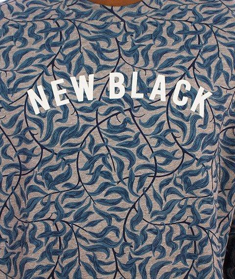New Black-Vine Crewneck Grey