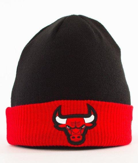 New Era-Chicago Bulls Czapka Zimowa Czarna/Czerwona