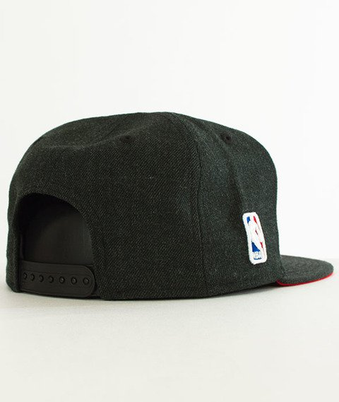 New Era-Chicago Bulls Heather Snapback Charcoal