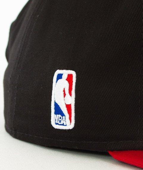 New Era-Chicago Bulls NBA Black Base 9Fifty Snapback Czapka Black/Red