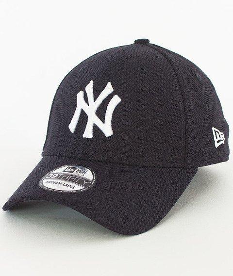 New Era-New York Yankees Diamond Czapka z Daszkiem Granatowa/Biała