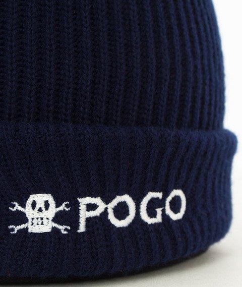 POGO-Small Beanie Navy Czapka Zimowa Granatowa