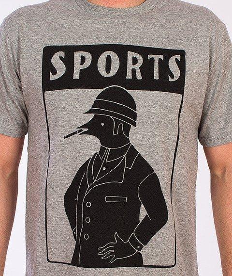 Parra-Sports T-Shirt Szary