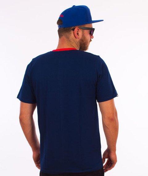 Patriotic-Areola T-shirt Granatowy/Czerwony