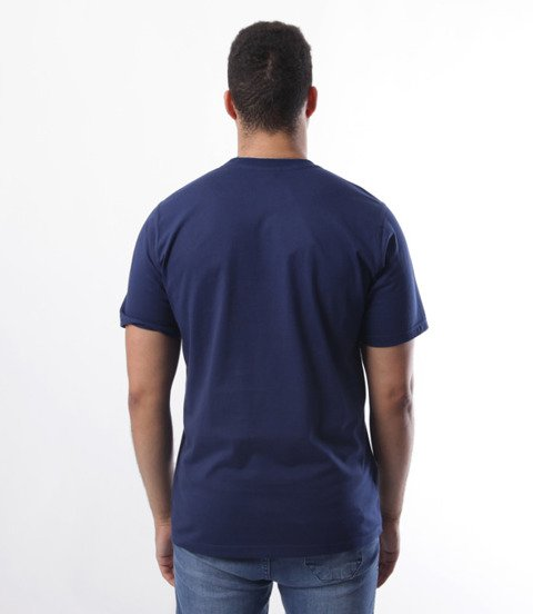 Patriotic-Big Laur T-shirt Granatowy