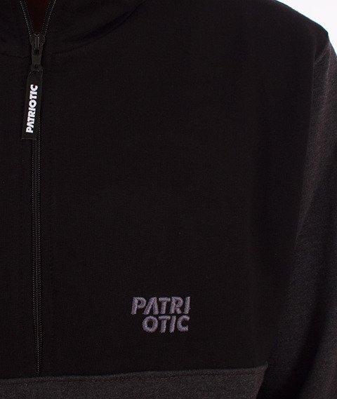 Patriotic-CLS Fa16 Bluza Kaptur Rozpinana Grafitowa/Czarna