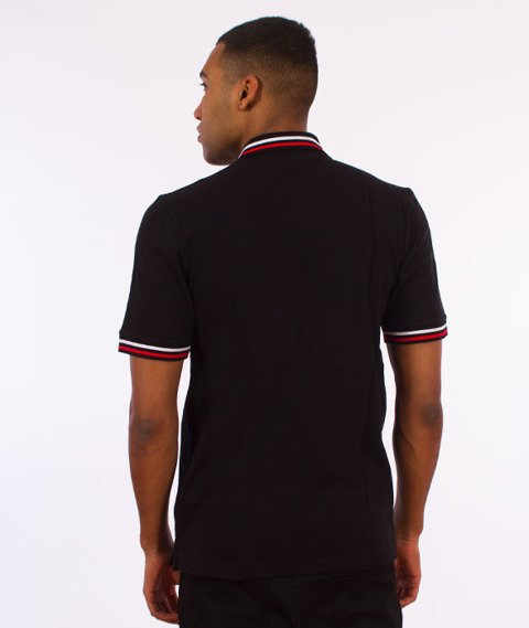 Patriotic-CLS Polo T-shirt Czarny