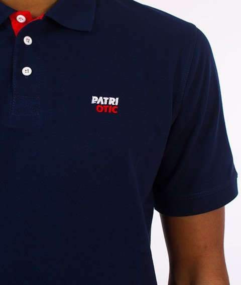 Patriotic-CLS Polo T-shirt Granatowy
