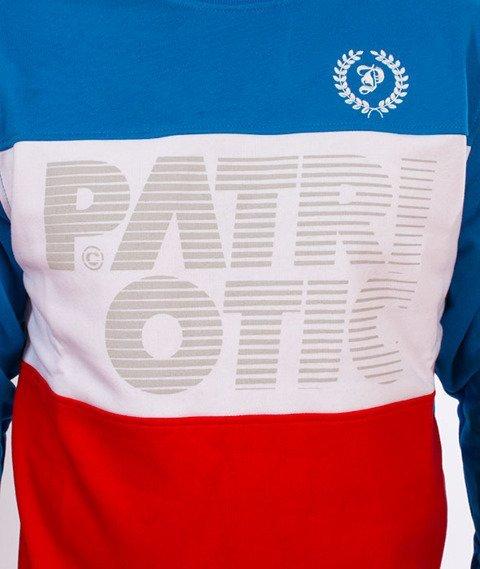 Patriotic-CLS Shade Trio BKL Bluza Niebieska/Czerwona