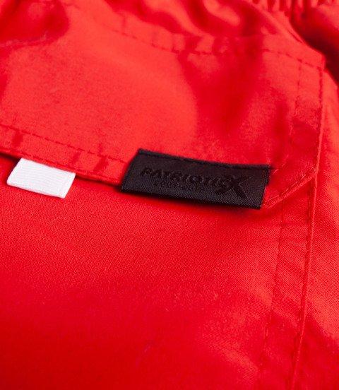 Patriotic CLS Spodnie Krótkie Czerwony