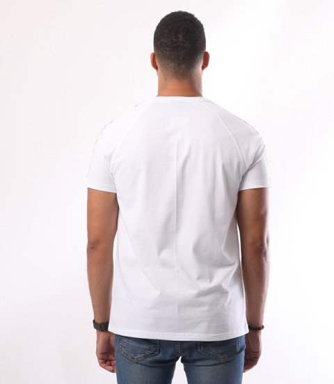 Patriotic-CLS Tape T-shirt Biały