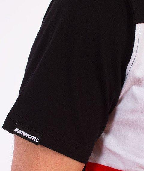 Patriotic-CLS Trio T-shirt Czarny/Czerwony/Biały