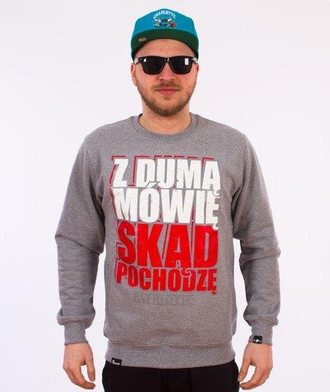 Patriotic-Duma Bluza Szara