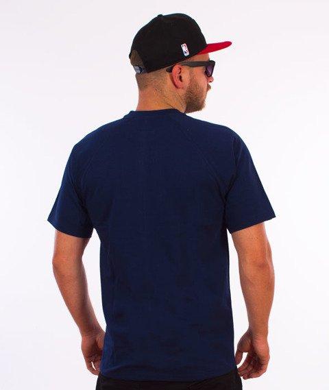 Patriotic-Fonts T-shirt Granatowy