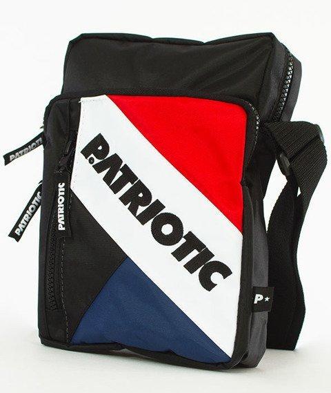 Patriotic-Futura Listonoszka Czarna/Czerwona/Biała/Granatowa